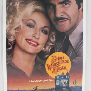 1982 The Best Little Whorehouse In Texas Movie Poster One Sheet
