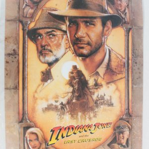1989 Indiana Jones and the Last Crusade Movie Poster One Sheet