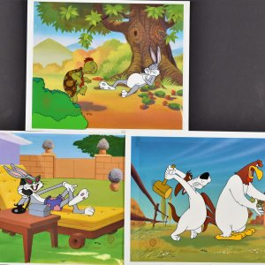 Robert McKimson-3 Warner Bros. Limited Edition Cels