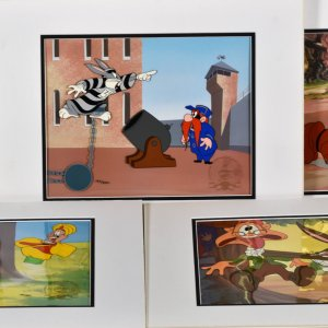 Bugs Bunny 50th- 5 LE Hand-Painted Cels