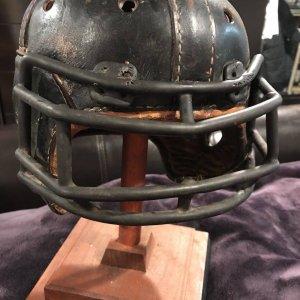 1940's Spalding Football Helmet