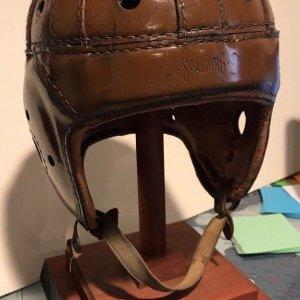 1930's SPALDING Football Helmet