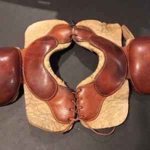 1915 Football Shoulder Pads