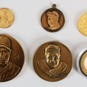 Babe Ruth Coins Lot (6) Yankees