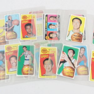 1970-71 Topps Basketball Card Lot (22)
