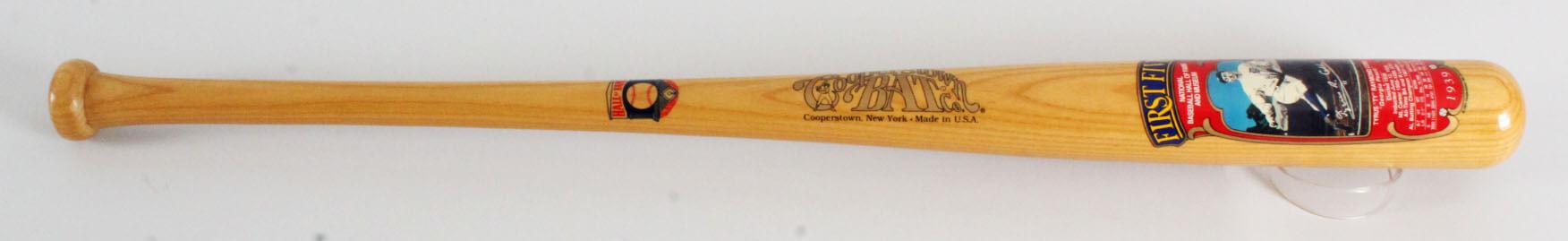 Ty Cobb Baseball Bat Cooperstown Tigers