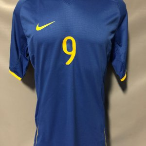 2008 Alexandre Pato Game-Worn Jersey Brazil National Olympic Games