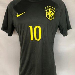 2014 Neymar Jr Game-Worn Jersey Brazil National Team Exclusive