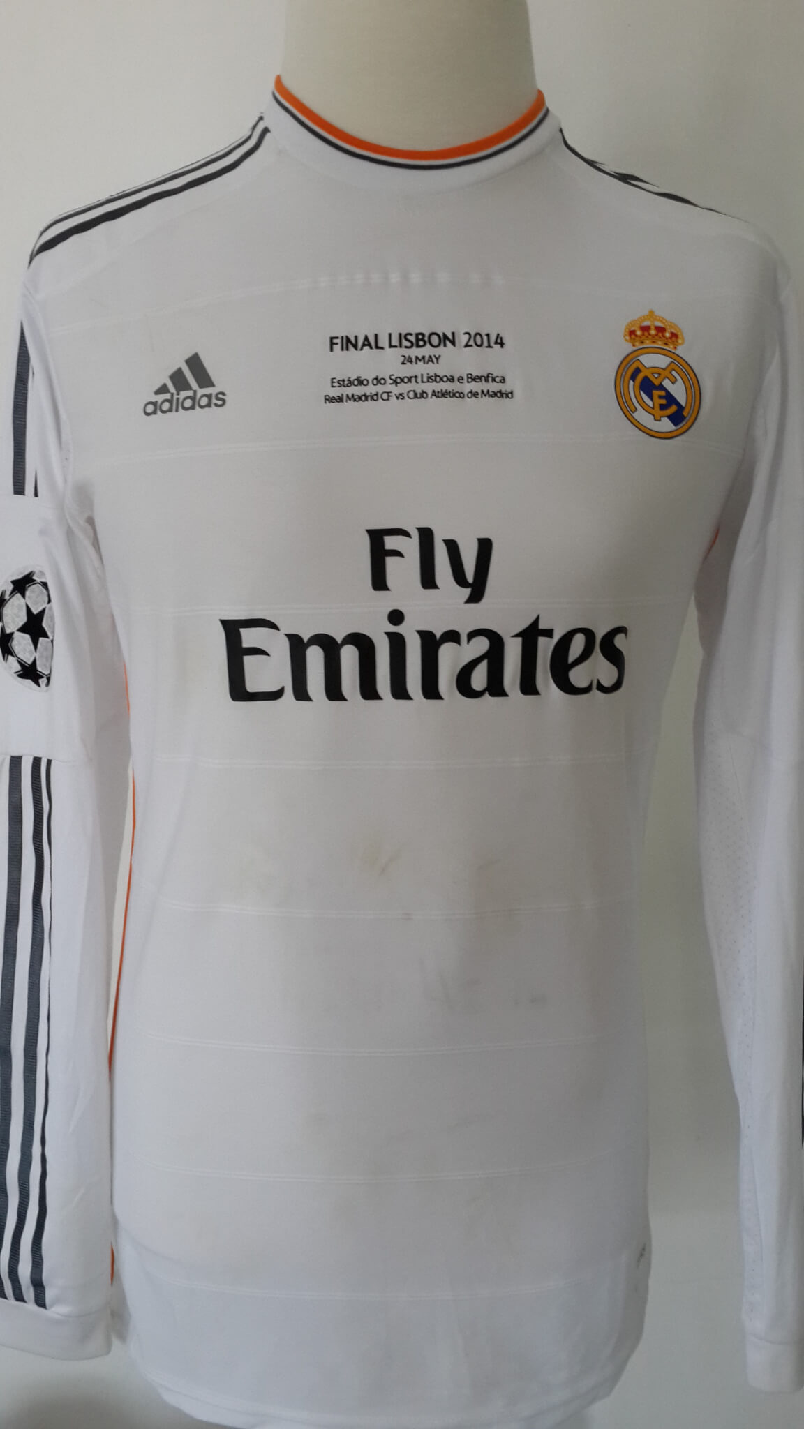 quality design 6056f d36aa Cristiano Ronaldo Game-Used #7 Real Madrid Shirt 2014 UEFA Champions League  Final