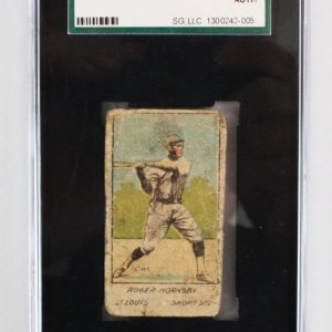1920 W516-1 #7 Rogers Hornsby Card - Graded SGC