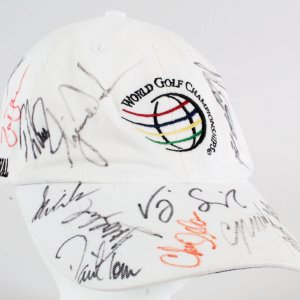 Tiger Woods Signed Hat w/ 15 Others - COA JSA