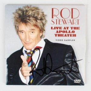 Rod Stewart Signed DVD - COA JSA