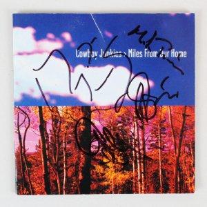 Cowboy Junkies Signed CD Cover - COA JSA