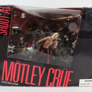 Motley Crue Mcfarland Figures - Shoutout At The Devil - Owned By Tommy Lee