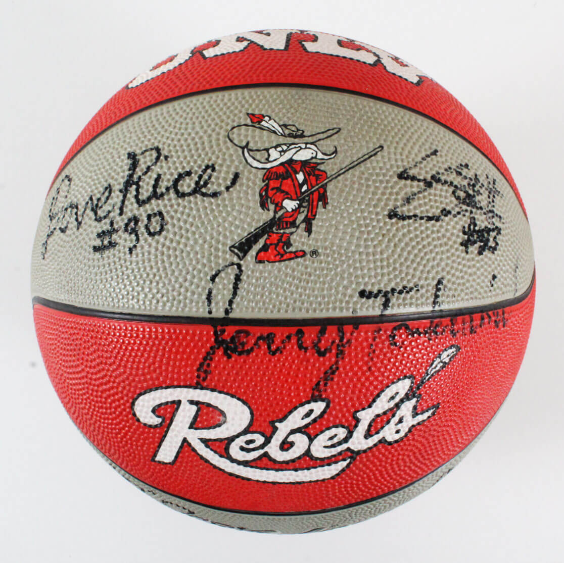 1991 UNLV Rebels Team Signed Basketball