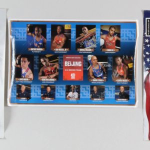 USA Boxing Team Signed Posters Olympics Lot (3)