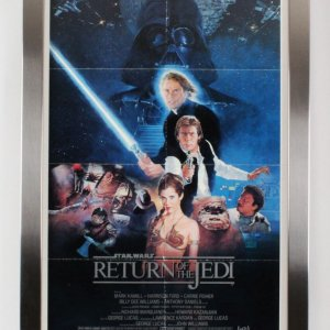 1983 Return Of the Jedi Movie Poster One Sheet Style B