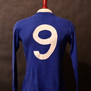 Sir Bobby Charlton Game-Used #9 Manchester United FC Shirt.  Circa 1960's.