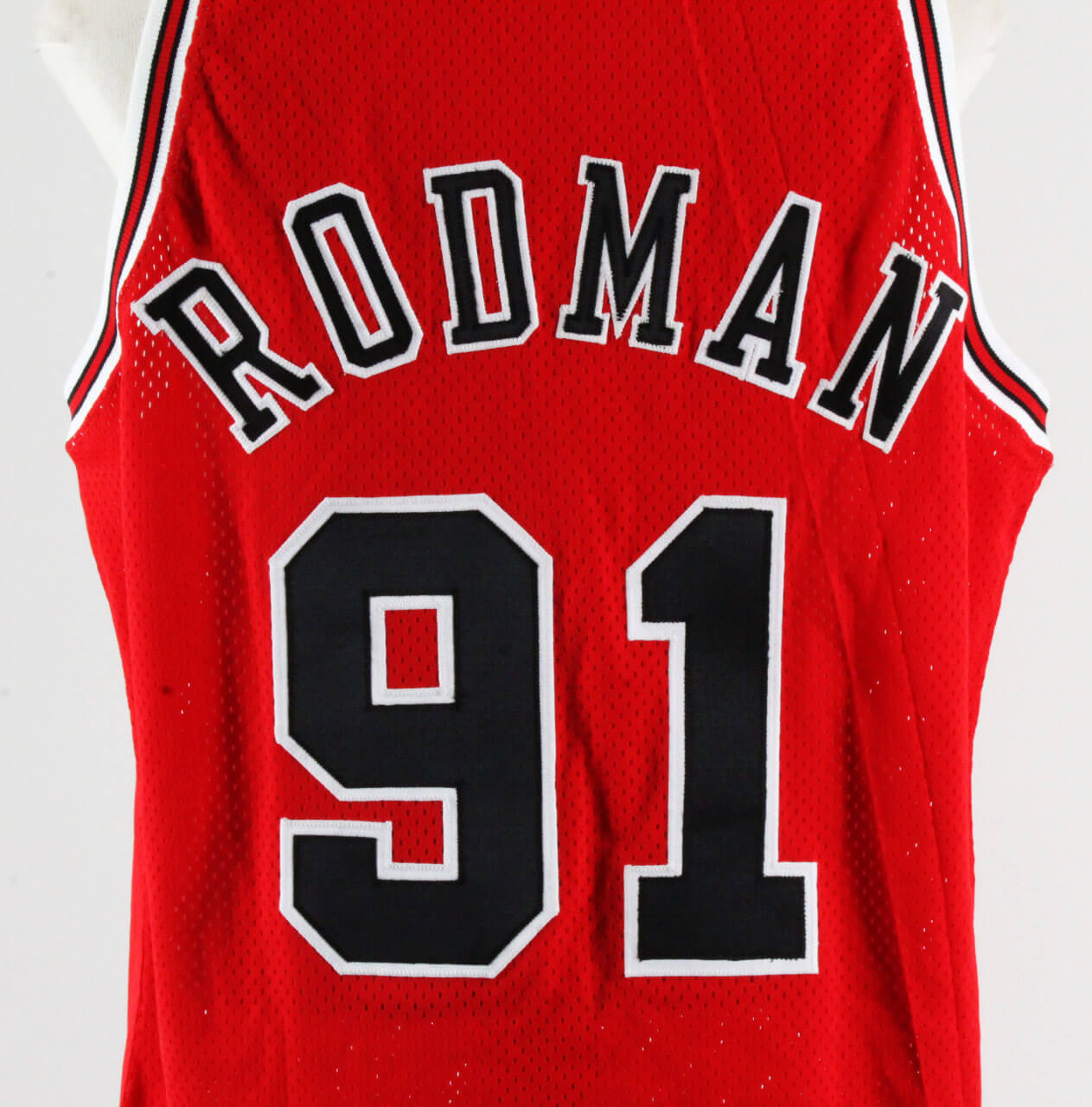 brand new 16044 a869c 1995-96 Dennis Rodman Game-Ready NBA Finals Jersey ...