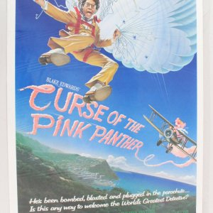 1983 The Curse of the Pink Panther Movie Poster One Sheet