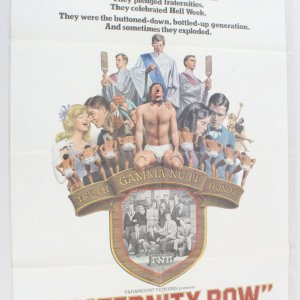 1977 Fraternity Row Movie Poster One Sheet 77/51