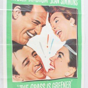 1961 The Grass Is Greener Movie Poster One Sheet 61/8