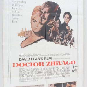 1972 Doctor Zhivago Movie Poster One Sheet R800160