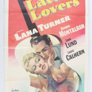 1953 Latin Lovers Movie Poster One Sheet 53/465