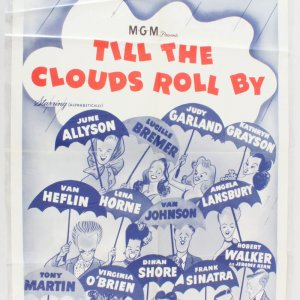1946 Till The Clouds Roll By Movie Poster One Sheet R62/336
