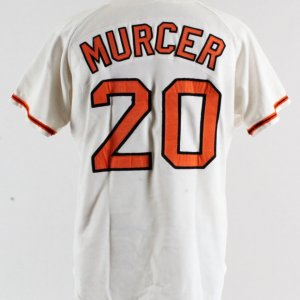 1975 Bobby Murcer Game-Worn Jersey -Giants COA 100% Authentic Grade 16/20