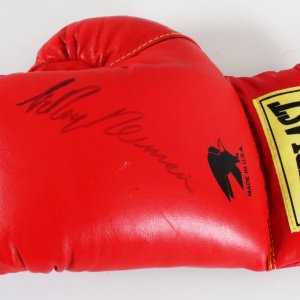 LeRoy Neiman Signed Boxing Glove - COA JSA
