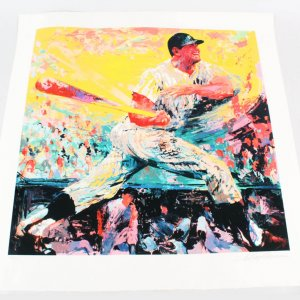 Mickey Mantle Signed Neiman Seriagraph-  COA JSA  Original Documentation