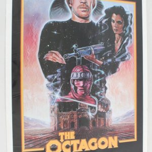 1980 The Octagon Movie Poster One Sheet
