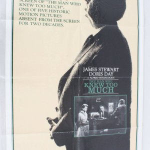 1983 The Man Who Knew Too Much Movie Poster NSS 830177