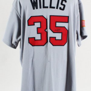 Dontrelle Willis Game-Worn Jersey Signed Team USA WBC - COA 100% Authentic Team