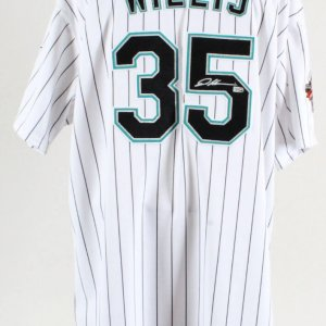 Dontrelle Willis Signed Game Jersey Marlins - COA MLB & 100% Authentic Team