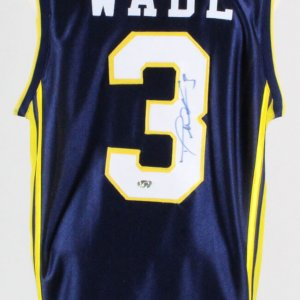 Dwyane Wade Signed Jersey Marquette Golden Eagles - COA