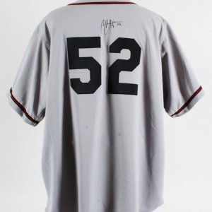 CC Sabathia Signed Game Worn Jersey Buckeyes - COA JSA & 100% Authentic Team