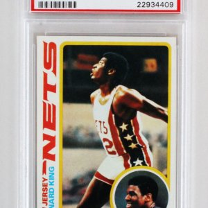 1978 Topps Bernard King Graded RC Card - PSA 10