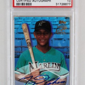 2000 Topps Traded Miguel Cabrera Graded RC Auto Card - PSA 10