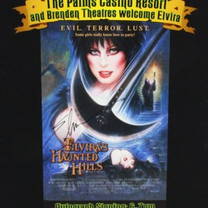 Elvira Signed Poster & Photos