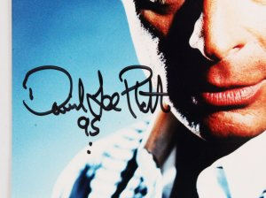 David Lee Roth Signed Photo - COA JSA