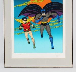 Bob Kane Signed Batman Litho 33/300 - COA JSA
