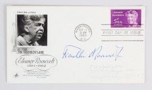 Franklin Roosevelt Jr. Signed FDC Lot (3) - COA JSA