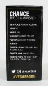 Vegas Golden Knights Bobblehead First Issue