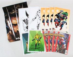 Wolverine Spiderman Lot Marvel Comics
