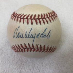 Don Drysdale Los Angeles Dodgers Signed Giamatti ONL Baseball JSA