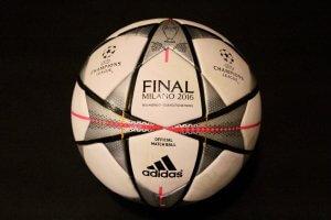 2016 UEFA Champions League Final Game-Used Ball.  Real Madrid v Atletico Madrid