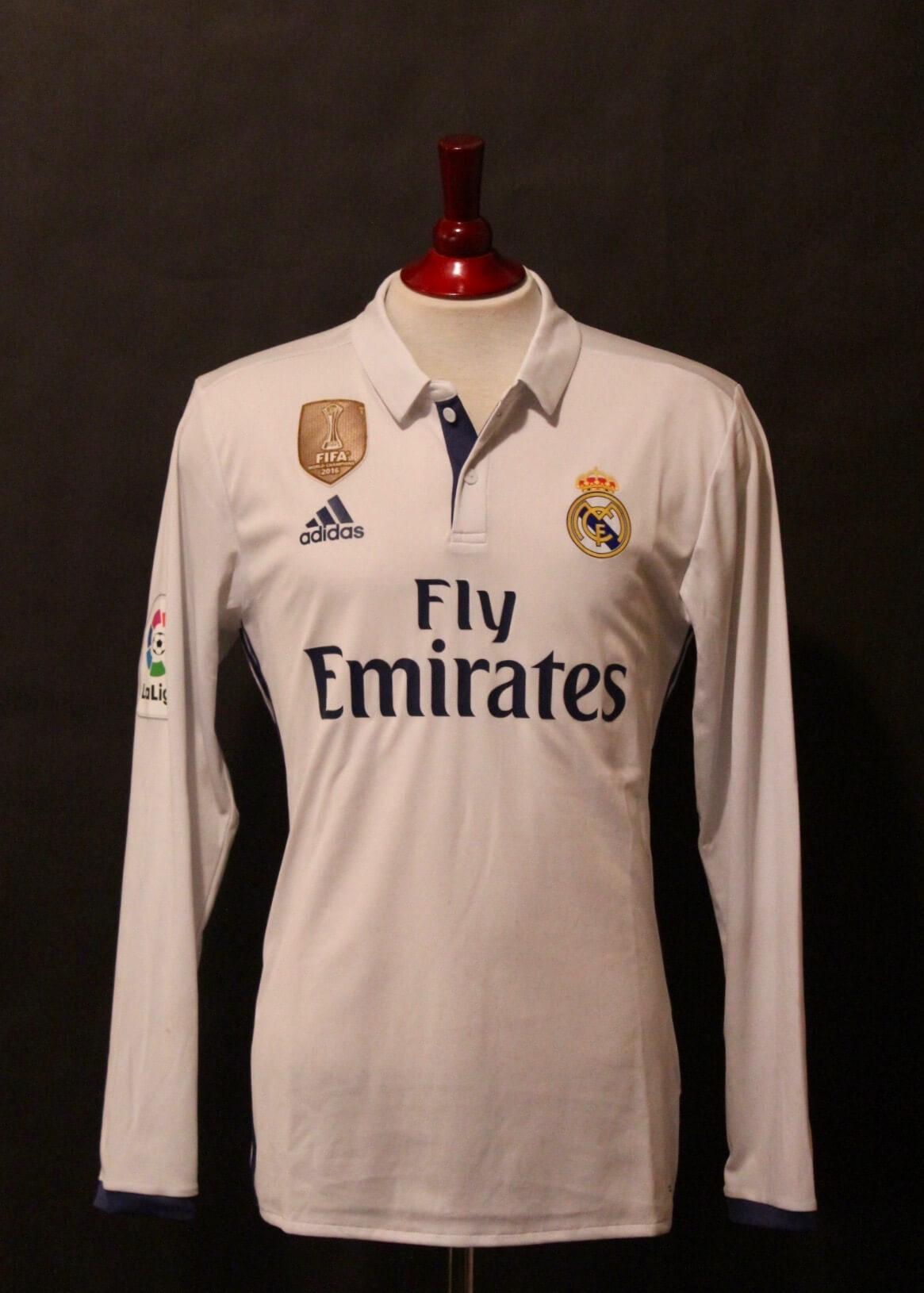 the best attitude 54318 11ae2 Cristiano Ronaldo Game-Used #7 Real Madrid Home Shirt. 2016/17 Spanish La  Liga.