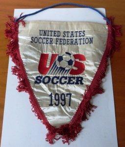 USA Game-Worn Pennant 1997